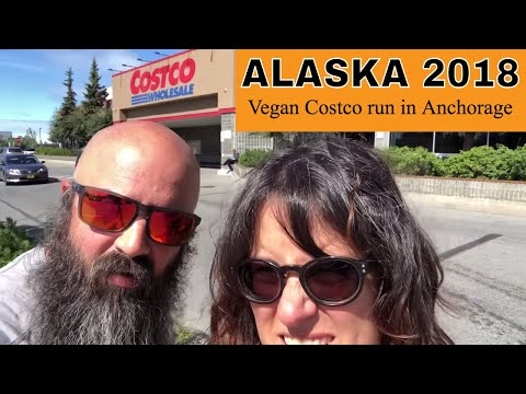 Alaska 2018 - 22 [vegan Costco run in Anchorage, Alaska]
