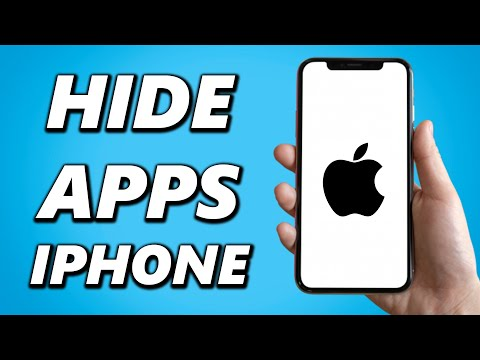This video walks you through options for hiding apps on your iPhone or iPad without having to instal.
