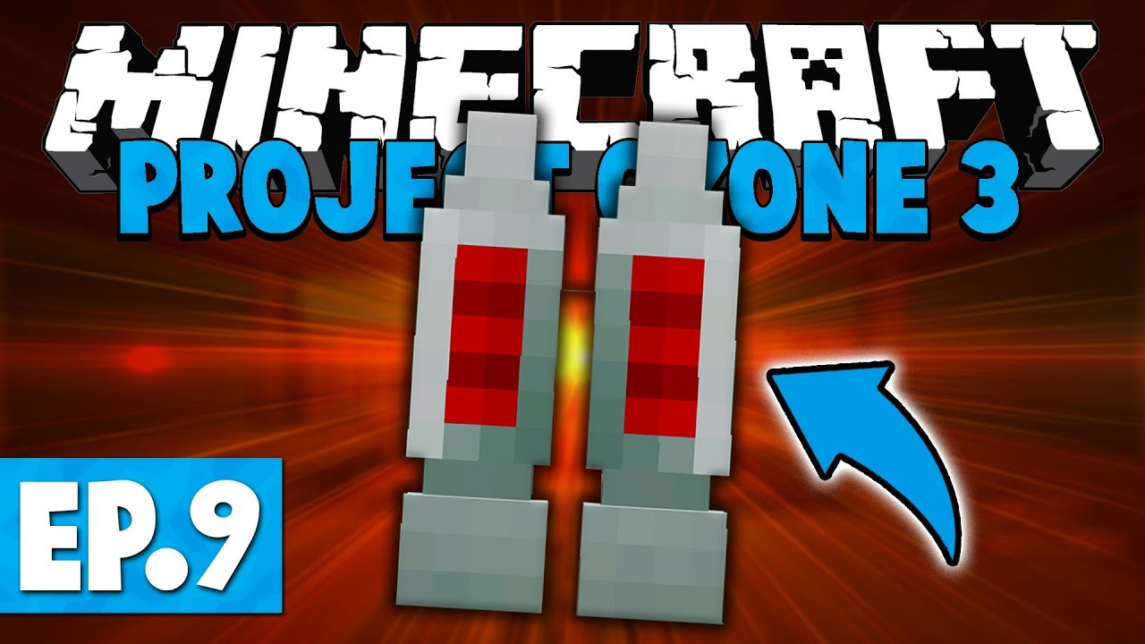 Minecraft Project Ozone 3 | Jetpacks are TERRIBLE! #9 [Modded Questing  Skyblock]