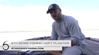 NEW SOFT PLASTICS from 6th Sense Fishing!!