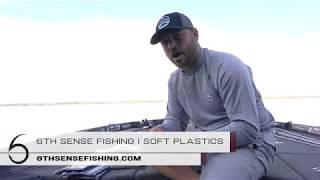 NEW SOFT PLASTICS from 6th Sense Fishing!!