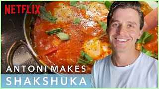 Antoni Porowski of Queer Eye Makes Eggs and Sausage for a Fan | Cook #withme | Netflix