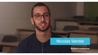 Nicolas Vandal, lauréat du Prix Reconnaissance jeunesse du Québec