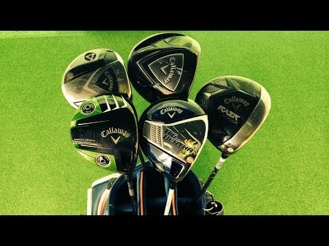 Callaway Big Bertha 2014 Vs Four Previous Callaway Drivers