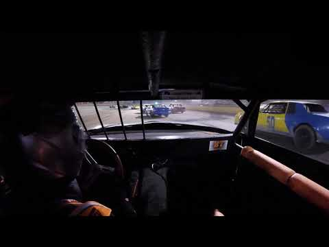 11.2.19 V8 Warriors. Feature. #87 in car cam. Part 2 of 3. - dirt track racing video image
