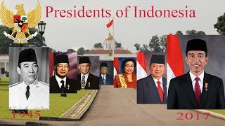 Presidents of Indonesia