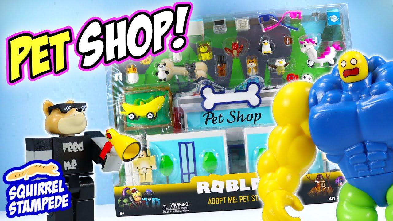 Roblox Adopt Me Pet Store Play Set Review Jazwares Youtube