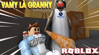 ROBLOX | Vamy Turns Into Granny Grandma And The Links For KiA | Granny | Vamy Tran