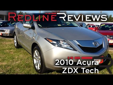 2010 Acura ZDX Tech Review, Walkaround, Exhaust, Test Drive
