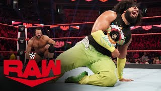 No Way Jose vs. Drew McIntyre: Raw, Jan. 6, 2020