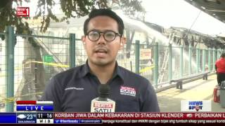 Penyebab Kebakaran Di Stasiun Klender Belum Diketahui