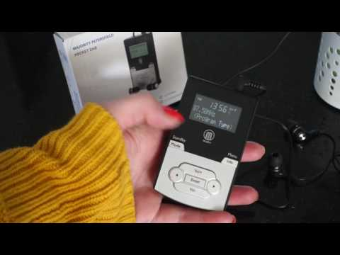 Majority Petersfield Pocket DAB Radio Video Guide
