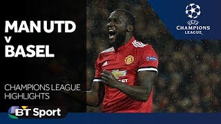 champions league highlights   manchester united 3 0 basel