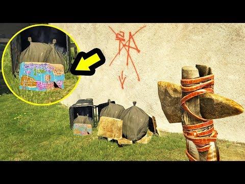 خريطة سرية وعلامات غريبة ثم إيجادها في جي تي أي 5   GTA V Secrets Found