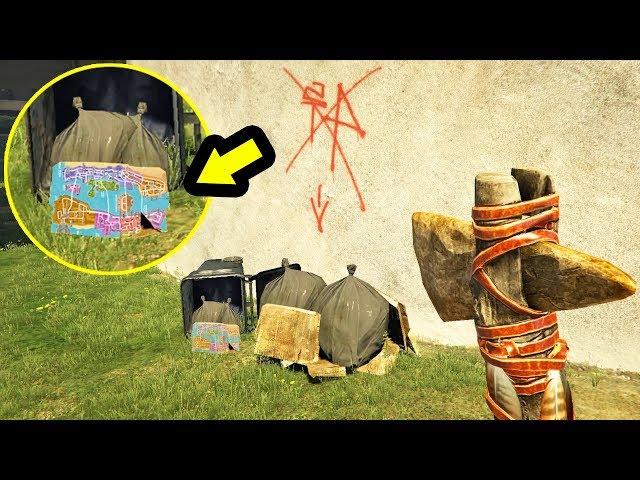 خريطة سرية وعلامات غريبة ثم إيجادها في جي تي أي 5 | GTA V Secrets Found