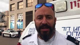 MDA Yarkon District Chief Divilensky describes fatal crane accident