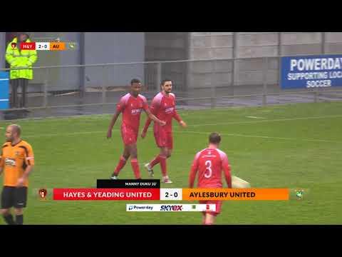 Hayes & Yeading v Aylesbury Utd - 18th Nov 2017