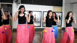 Hawaiian Dance Class [Pearly Shells]