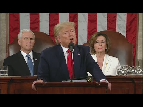 President Donald Trump's State of the Union Address 2020