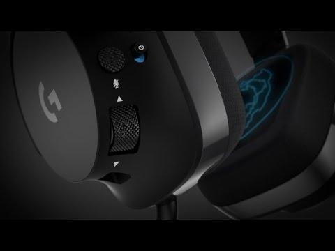 logitech g533 wireless gaming headset im test youtube. Black Bedroom Furniture Sets. Home Design Ideas