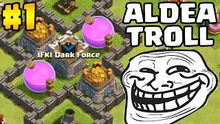 Aldea Troll #1 | Castillo con Tropas Fuertes | Clash of Clans