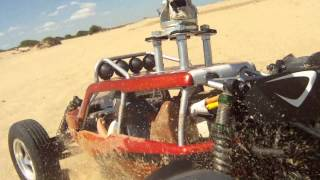 Vaterra Glamis Fear In Sand and Dunes with Swivel Mount (HD 1080 available)