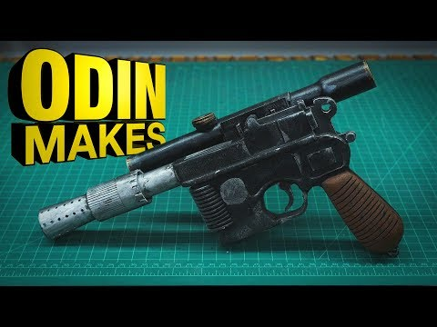 Odin Makes: Han Solo's Blaster from Star Wars