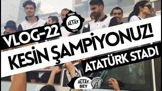 KESİN ŞAMPİYONUZ - ŞAMPİYON ALTAY! || VLOG 22 (Altay-Gümüşhanespor)
