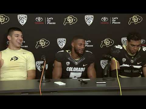 Player Press Conference | CU 44, Cal 28