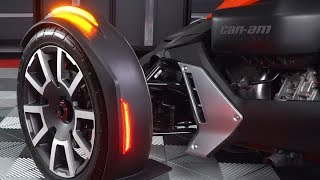 Can-Am Ryker Front Fender Sequential LED Reflectors