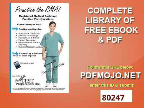 RMA Practice Test - Registered Medical Assistant Questions