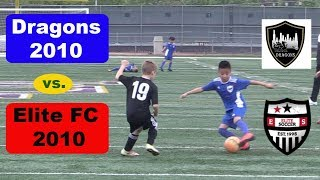 Youth Soccer Game Highlights: Chicago Dragons Vs Elite Fc (2019)