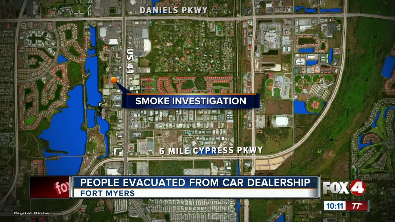 Fort Myers Honda >> Fort Myers Honda Dealership Evacuated