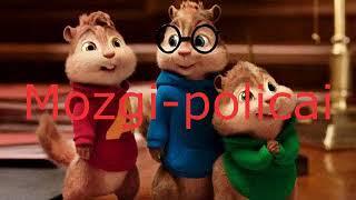 Download Элвин и бурундуки поют Песню Mozgi-Policai Mp3 and Videos