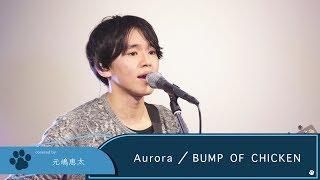 Gambar cover 【LIVE録音】Aurora/BUMP OF CHICKEN ドラマ「グッドワイフ」主題歌 Covered by 元嶋恵太