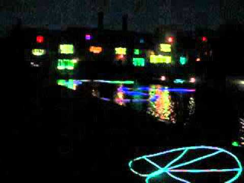 RHS Garden Wisley at Night