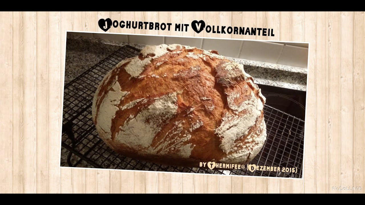 vorwerk thermomix tm 5 joghurtbrot mit vollkornanteil youtube. Black Bedroom Furniture Sets. Home Design Ideas