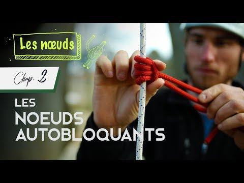 Nœuds Autobloquants (Chap.2) Avec Un Ficelou Monobrin - Machard Tressé - Distel - Souabe