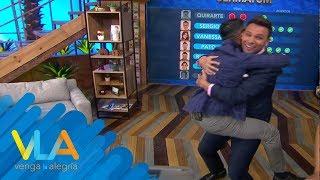 ¡Pato y Sergio comparten la victoria en el Ultimátum de Venga la Alegría!