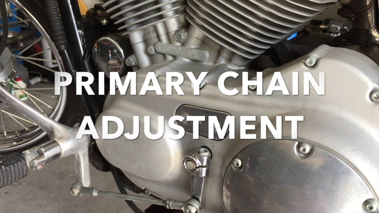 How To Adjust Primary Chain Harley Davidson Sportster