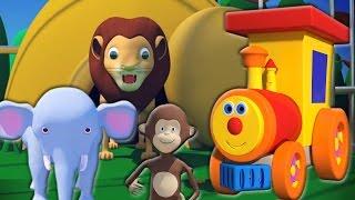 Ben treno per zoo   Canzoni per bambini   Kids Song   Ben Train Going to Zoo   Learn Animal