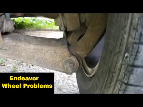 Mitsubishi Endeavor Tire Wearing Funny, Wobble, Wheel Hop? Problem Found