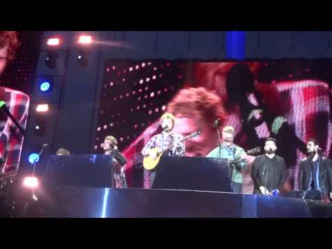 Molly Malone - Ed Sheeran ft.Kodaline & Glen Hansard - Croke Park 25/07/2015