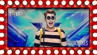 El primer mimo de la historia del concurso gusta al jurado | Audiciones 6 | Got Talent España 2018