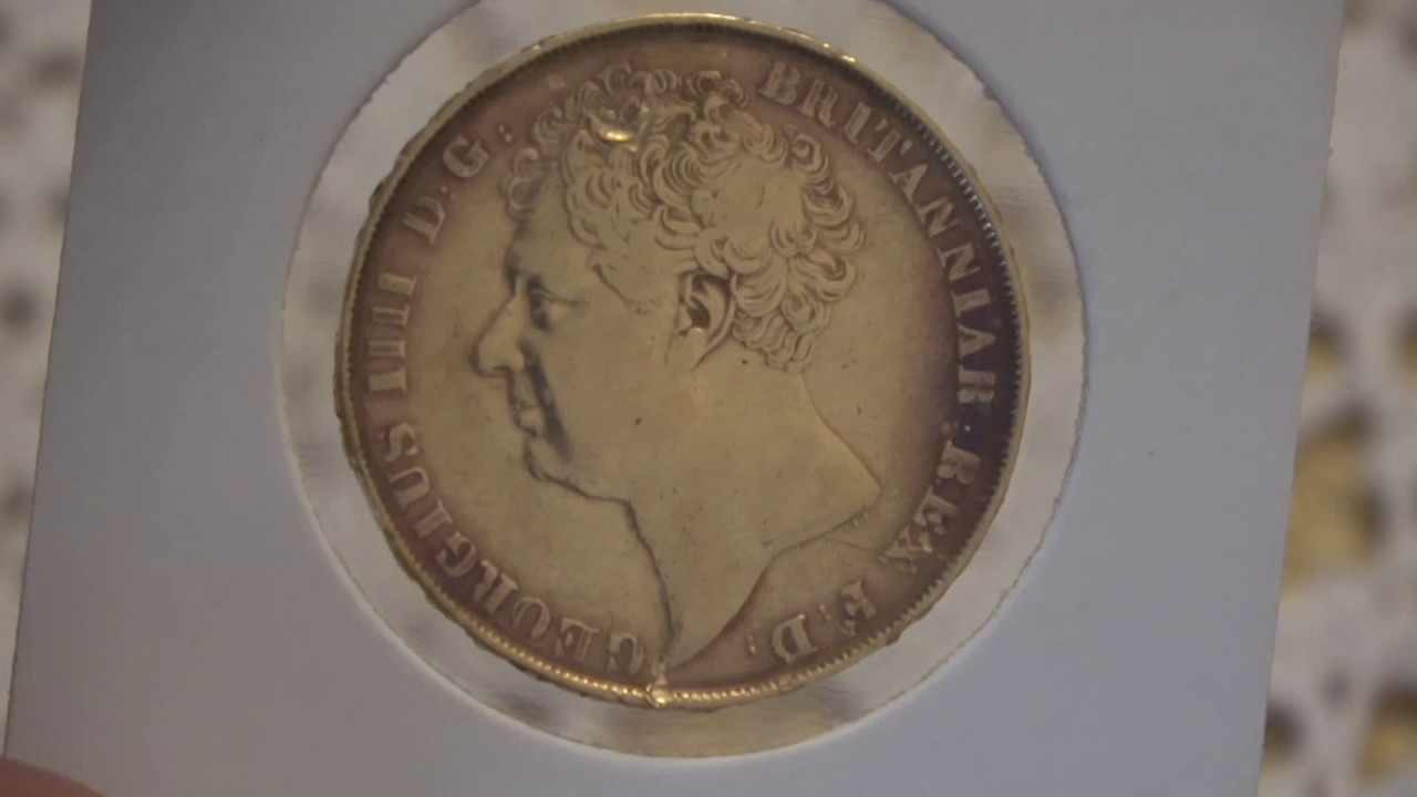 1823 Two Pound Double Sovereign Just Under 1 2 Ounce Of