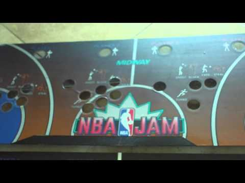 Midway Nba Jam Dedicated Arcade Jamma Cabinet machine CPO Fix
