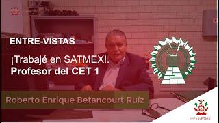 DOCENTE DEL CET 1 IPN que participó en la creación de satélites mexicanos.