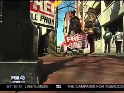 WBFF: Free Phone Frenzy - abuse of the federal Lifeline program