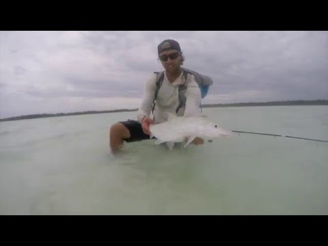 Indonesian bonefish flats