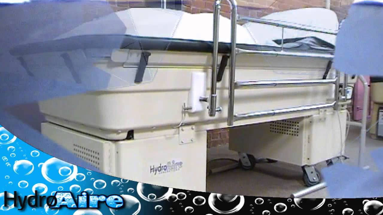 Hydroaire Air Fluidized Therapy Bed Youtube